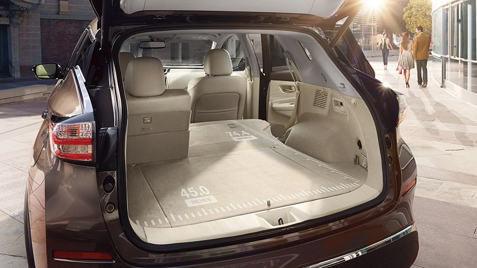 60 40 Split Fold Down Rear Seatbacks With Cargo Area Accessible