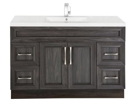 Classic Collection Cckatr48sbt 48 Transitional Single Sink Vanity With 2 Doors 4 Drawers And Soft Kitchen Bath Oak Bathroom Vanity Vanity