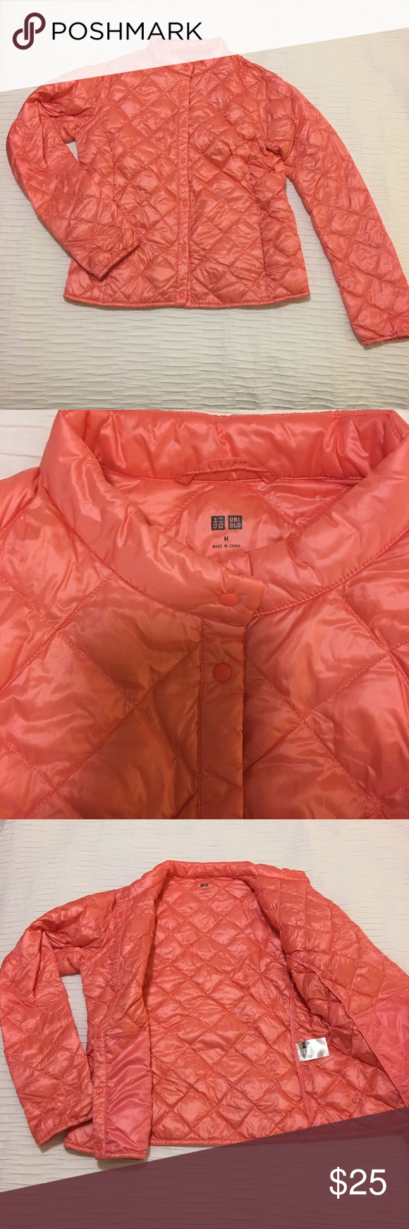 Uniqlo pink puffer jacket! Uniqlo pink puffer jacket
