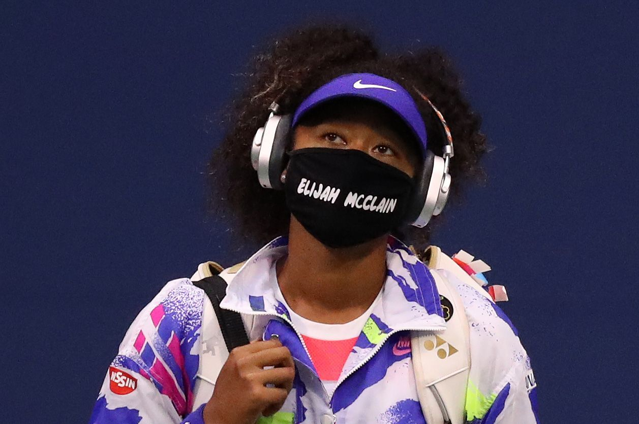 Naomi Osaka Advances Honors Elijah Mcclain In 2020 Tennis Players Role Models Camila Giorgi