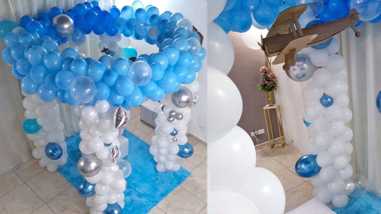 Como Fazer Arco de Balões Redondo Baloeiro Decoração Festa