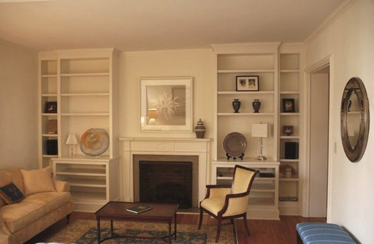Shelves For Either Side Of Chimney Breast Needs Lower Cabinets Living Room Design Pinterest