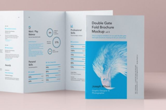 This Is The Classic Version Of Our Psd Double Gate Fold Brochure To