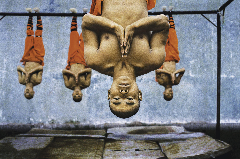 Steve McCurry Shaolin Monks Practicing, Zheng Zheng