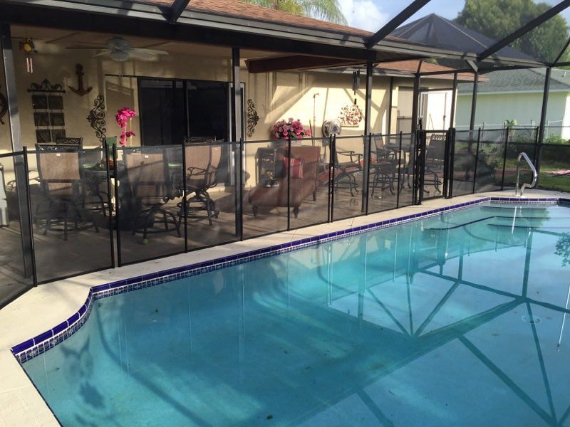 Port Orange Pools Our Self Closing Gate Can Be Installed Easily To Fit In Your Preferred Location Poolsafety Babybar Pool Swimming Pool Safety Pool Safety