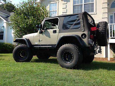 eBay: 2004 Jeep Wrangler Rubicon Jeep Wrangler, Rubicon, 35's, 5.5