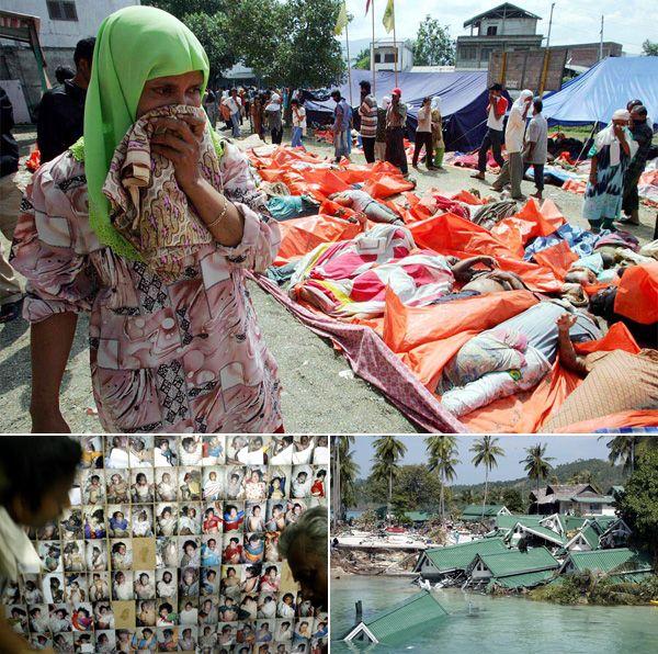 Banda Aceh Sumatra Indonesia Natural Disasters