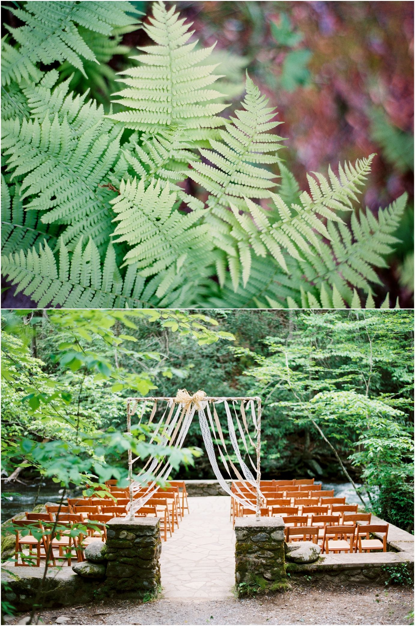 Spence Cabin Wedding in the Great Smoky Mountains National Park - click to view more!