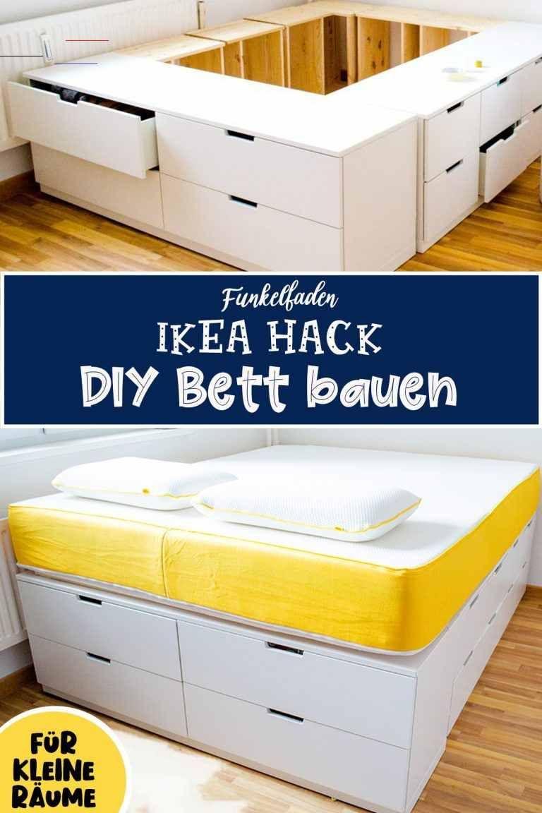 Diy Ikea Hack Plattform Bett Selber Bauen Aus Ikea Kommoden Werbung Rangementmaison Anleitung Fur Ein Hohe En 2020 Ikea Hackear Cama Ikea Almacenamiento De Dyi