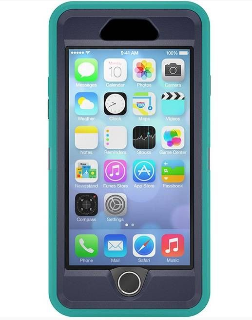 Otterbox Defender Case Suits Iphone 6 4 7 Quot Inch Teal Dark Jade Triple Layer Ultra Rugged Iphone Iphone 6s Cases Otterbox Iphone 6s Case Iphone