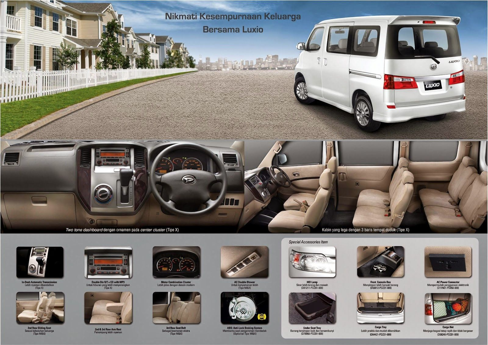 Luxio Dengan Gambar Daihatsu Mobil Indonesia