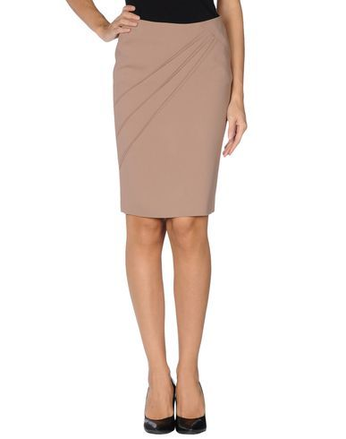 I found this great BLUMARINE Knee length skirt for $281 on yoox.com. Click to get a code for Free Standard Shipping on your next order.