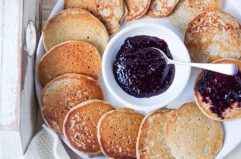 Buckwheat pikelets recipe sweet breakfast low sugar