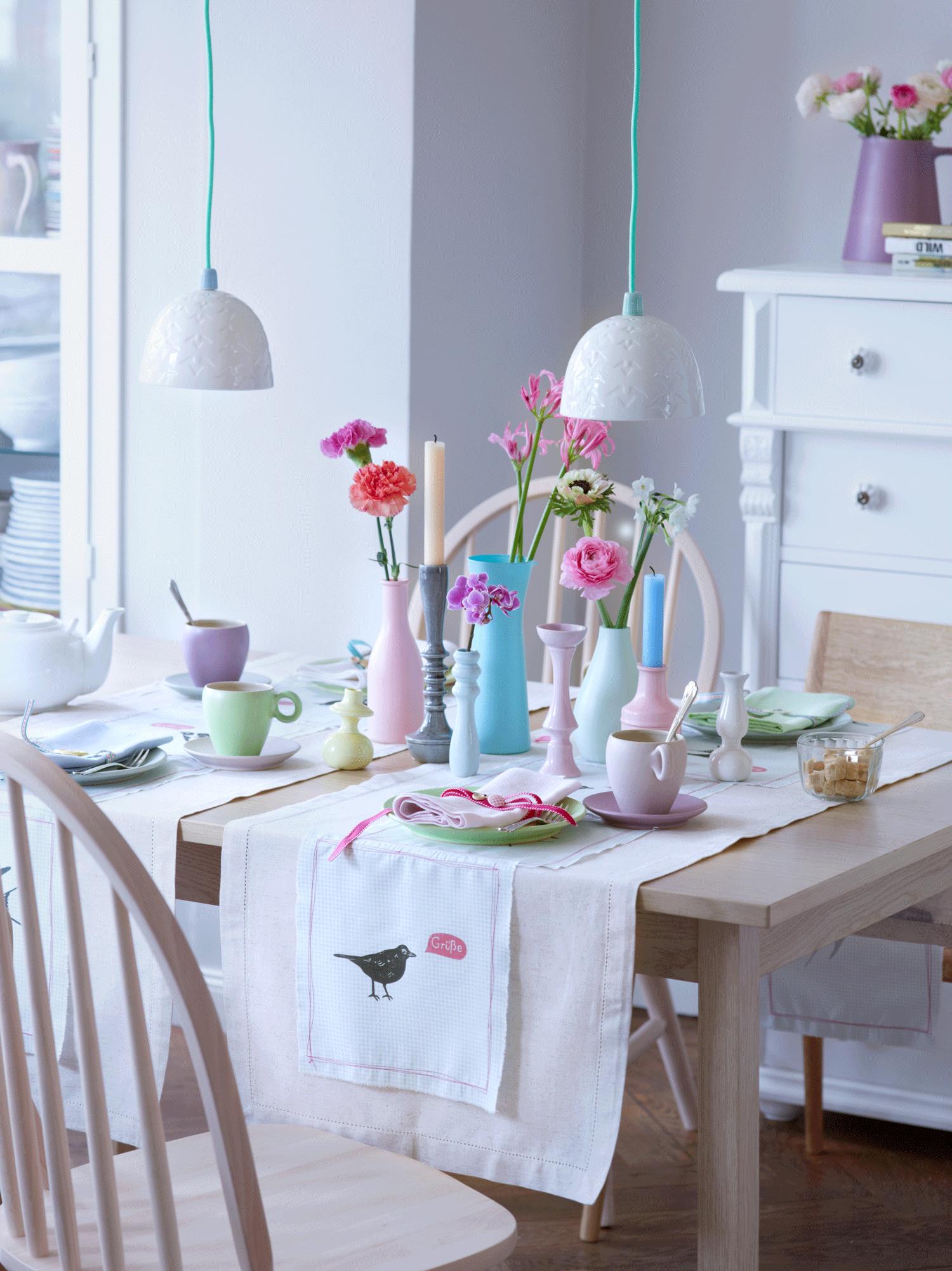Grünes esszimmer design wohnideen für küche und esszimmer  home deco  inneneinrichtung und