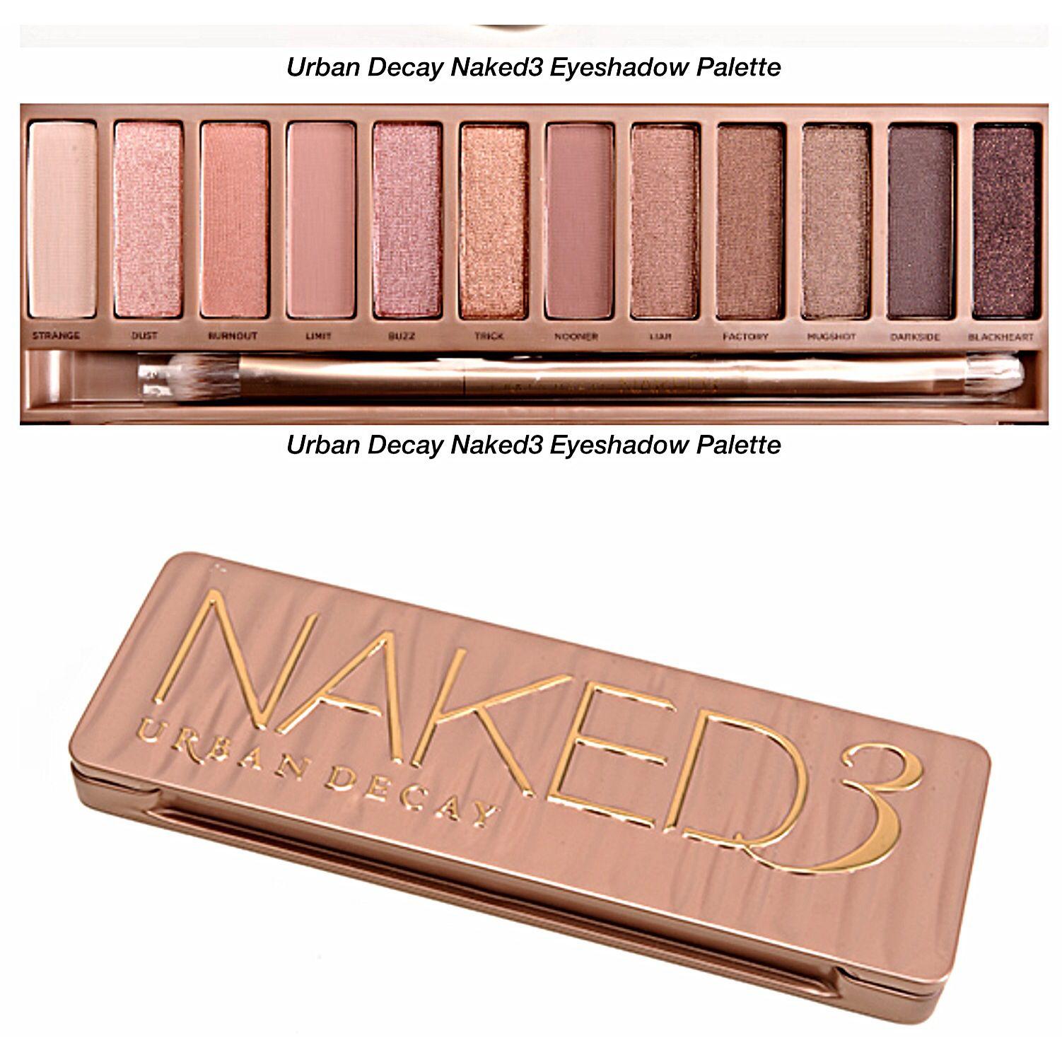 Desperately want the Naked 3 palette for Christmas! #agirlcandream