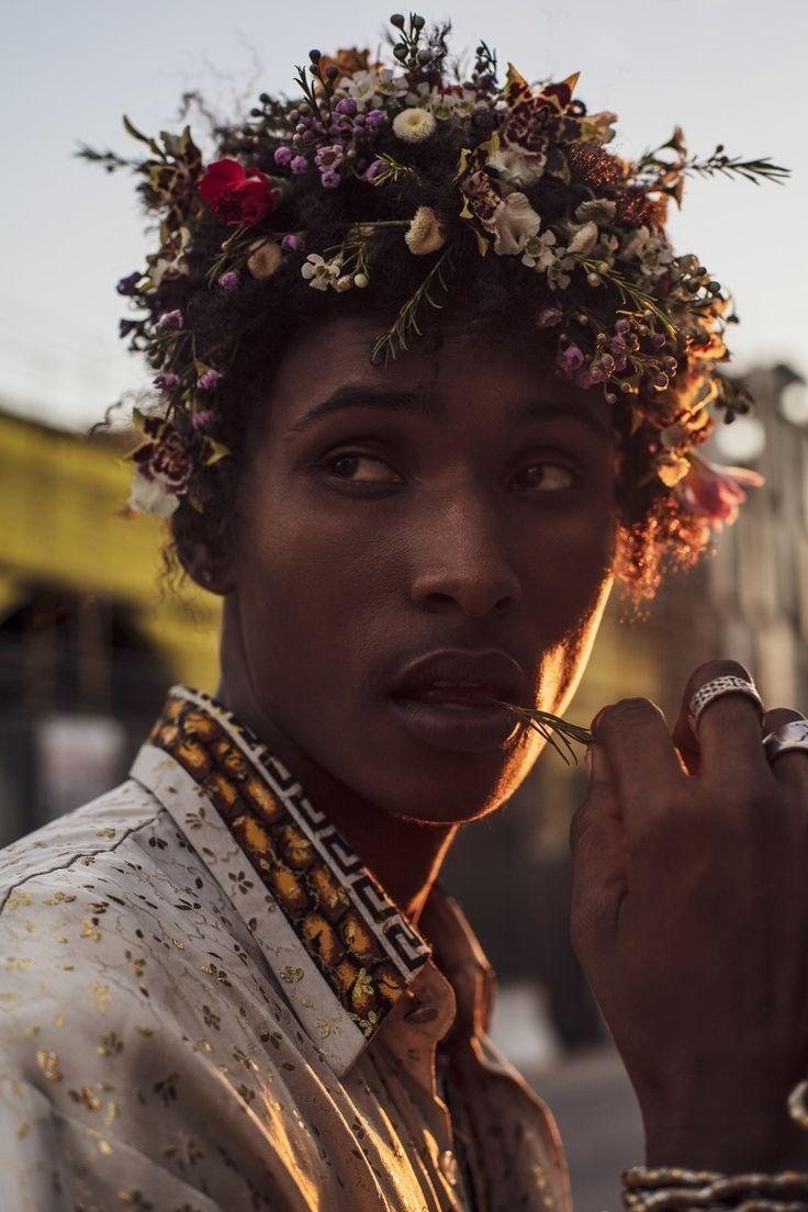 Male model flower crown men pinterest flower crowns male male model flower crown izmirmasajfo
