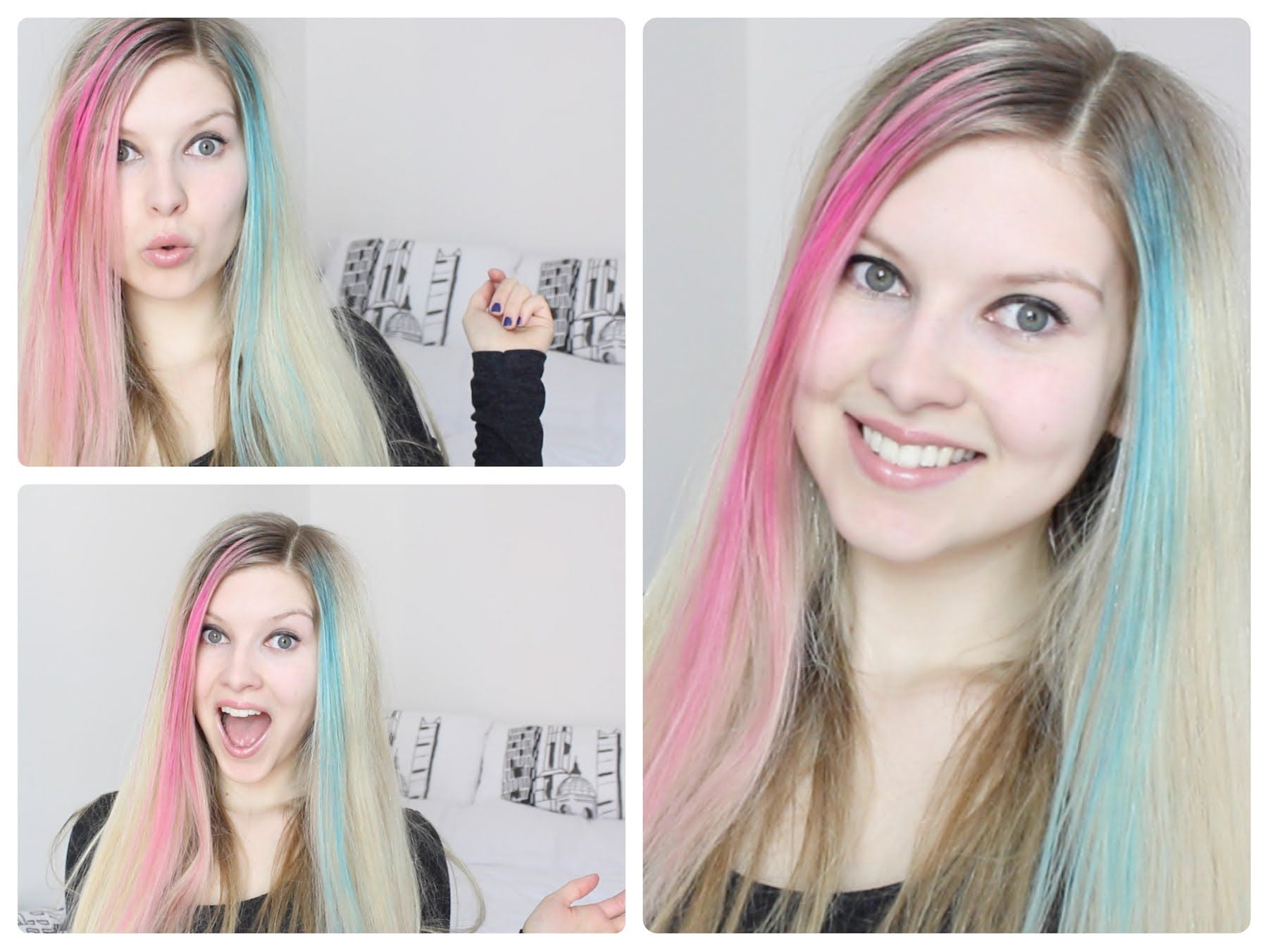 Hair Chalk: Review & Demonstration | one of the better how to videos