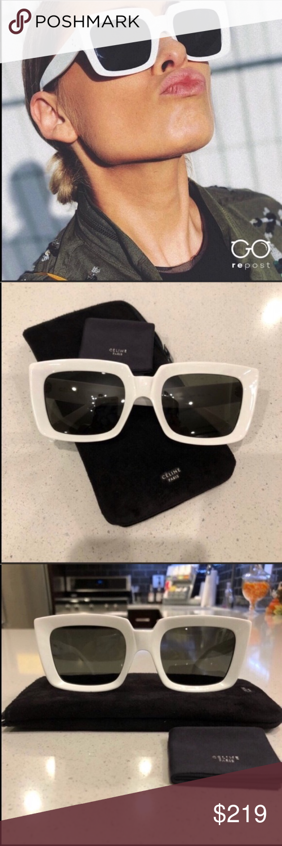 1c7e5150609 Spotted while shopping on Poshmark  Celine sunglasses!  poshmark  fashion   shopping  style  Celine  Accessories