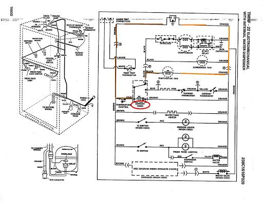Whirlpool Upright Freezer Wiring, Ge Refrigerator Wiring Diagram