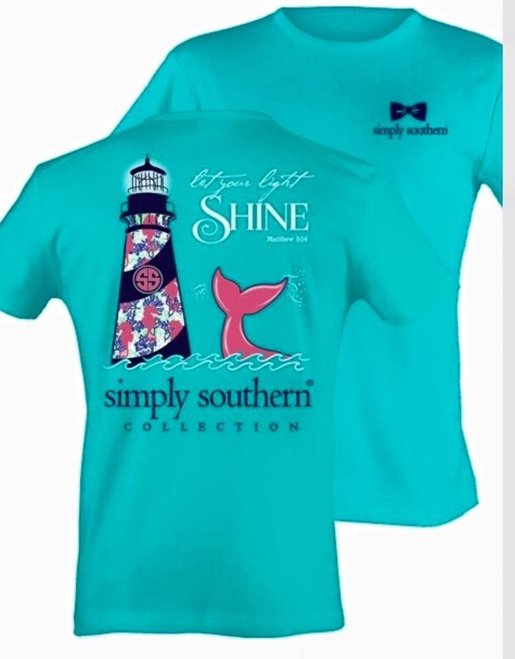 fd30597cbb24 Lighthouse Simply Southern Tee More