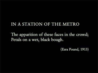 ezra pound metro poem