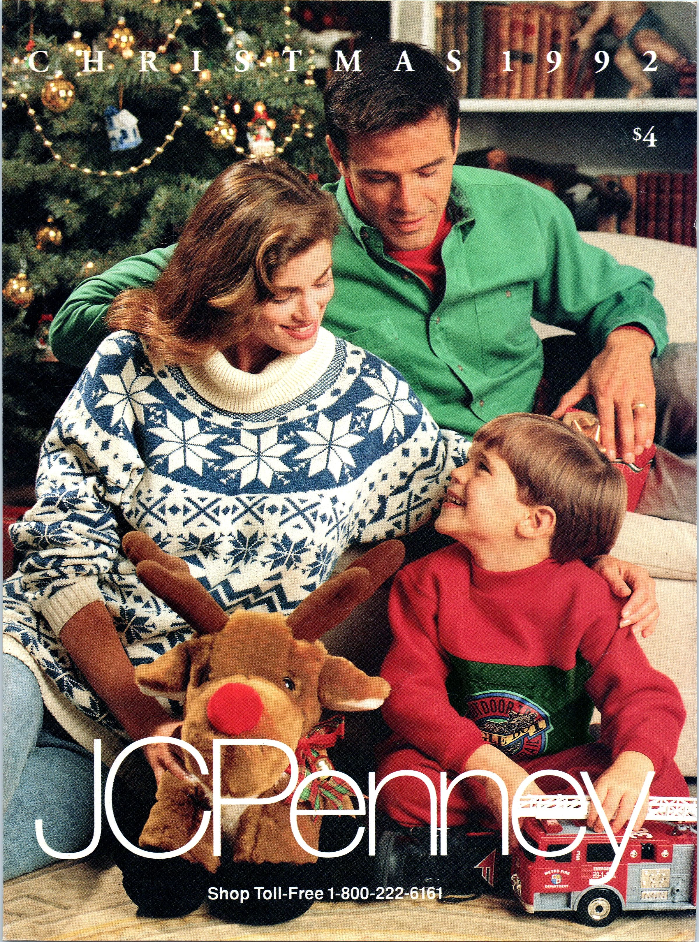 1995 Catalog Jcpenney Christmas