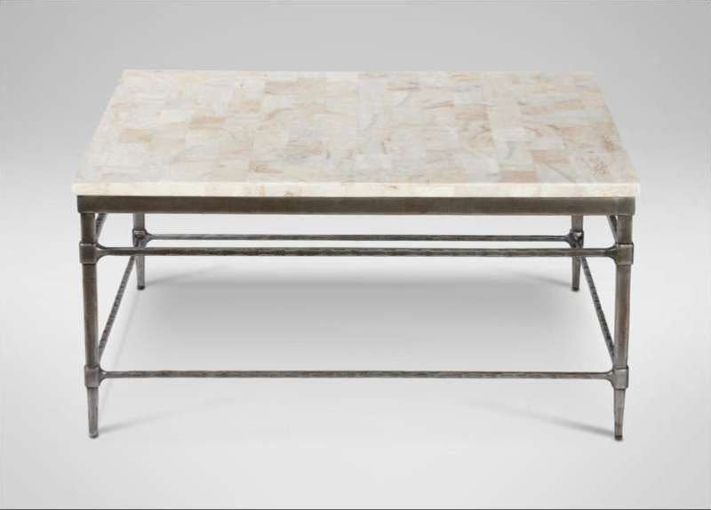 48 Inch Square Marble Coffee Table