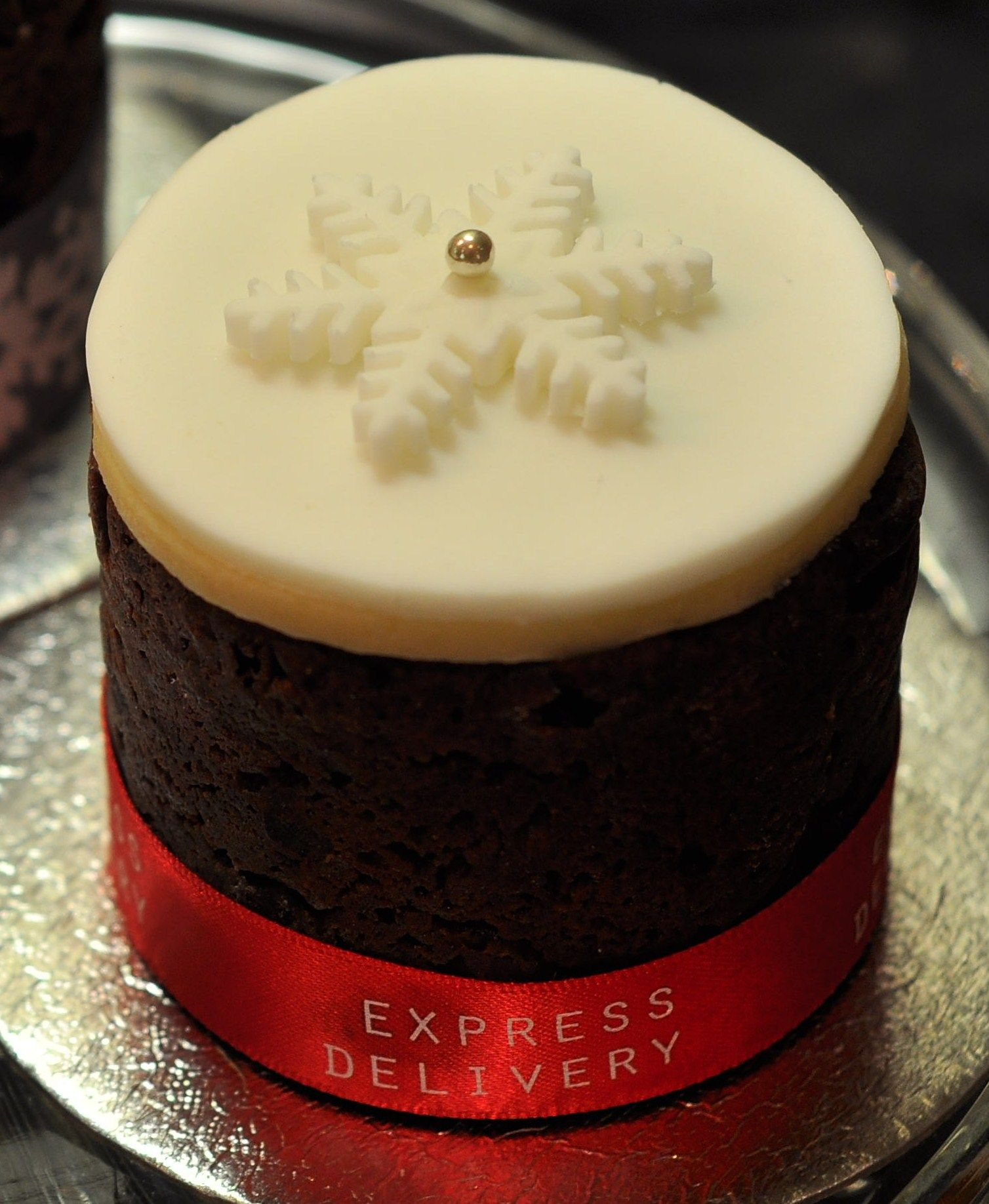 The Baked Bean Tin Christmas Cake Project pt 3 Cake