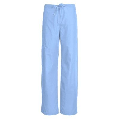 "f05b4a48dcb These fully functional Cherokee ""Workwear"" Unisex Drawstring Scrub Pants  are ideal for the modern healthcare professional. Designed with an  adjustable ..."