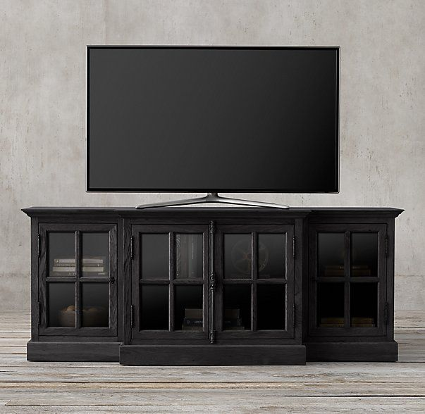 French Casement 80 Media Console Media Consoles Decor Living