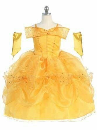 Vestido Bella Vestido Princesa Infantil Roupa De Princesa
