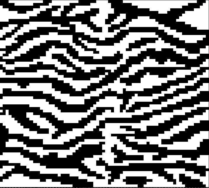 Zebra Afghan, C2C Graph, Written Word Chart, zebra graph, zebra c2c ...