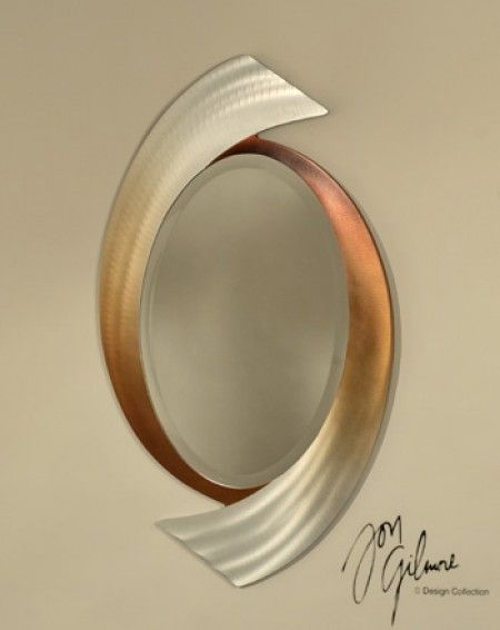 Swerve Wall Mirror Via Opulent Items Home Decor Pinterest - Unique-wall-mirrors-from-opulent-items