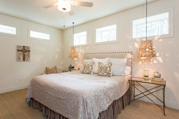 French Eclectic Austin Texas by Danze & Davis Architects Inc I love the hight windows for a master bedroom