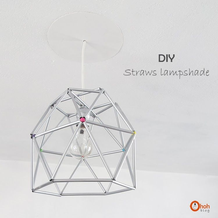 Diy straw lampshade craft diy ideas and diy pins diy straw lampshade a little craft in your day greentooth