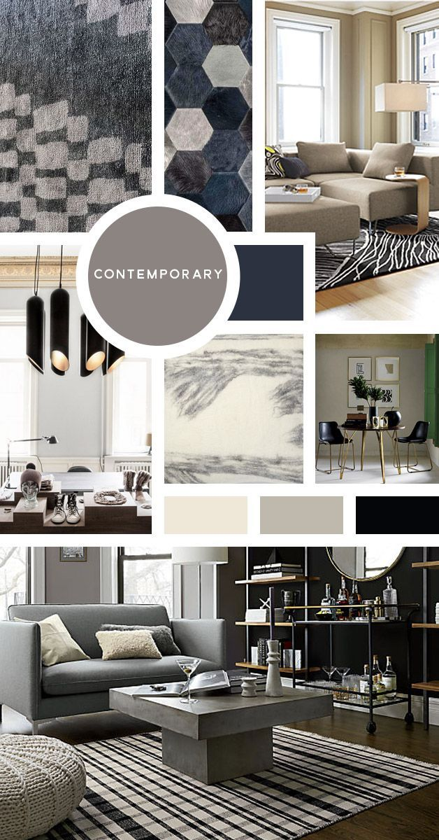 Your Ultimate Guide To Interior Design Styles: Contemporary  You Like It As  Minimal As