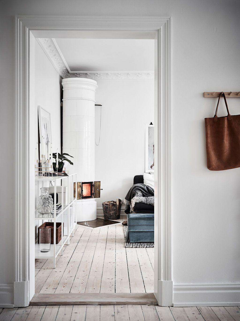 Zweeds Interieur Design.Kakelugn De Zweedse Tegelkachel Woonideeen Scandinavische