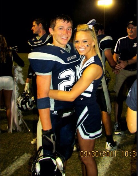 relationship goals football and cheerleader halloween