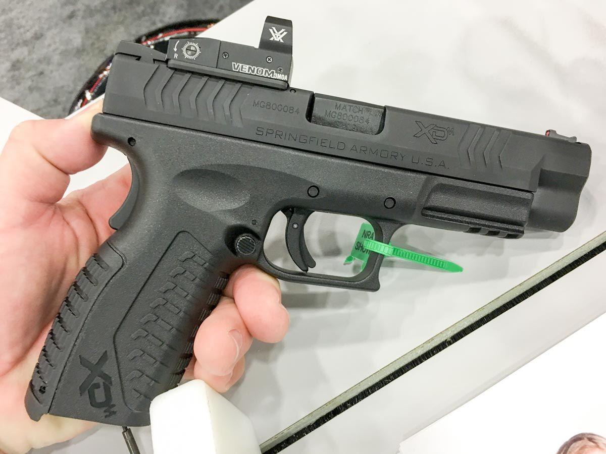 red dot sight for springfield xd