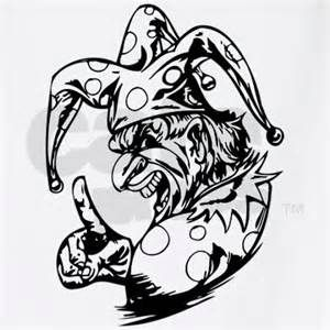 Scary Killer Clown T Shirt By Tillhunter Find This Pin And More On Halloween Coloring Pages