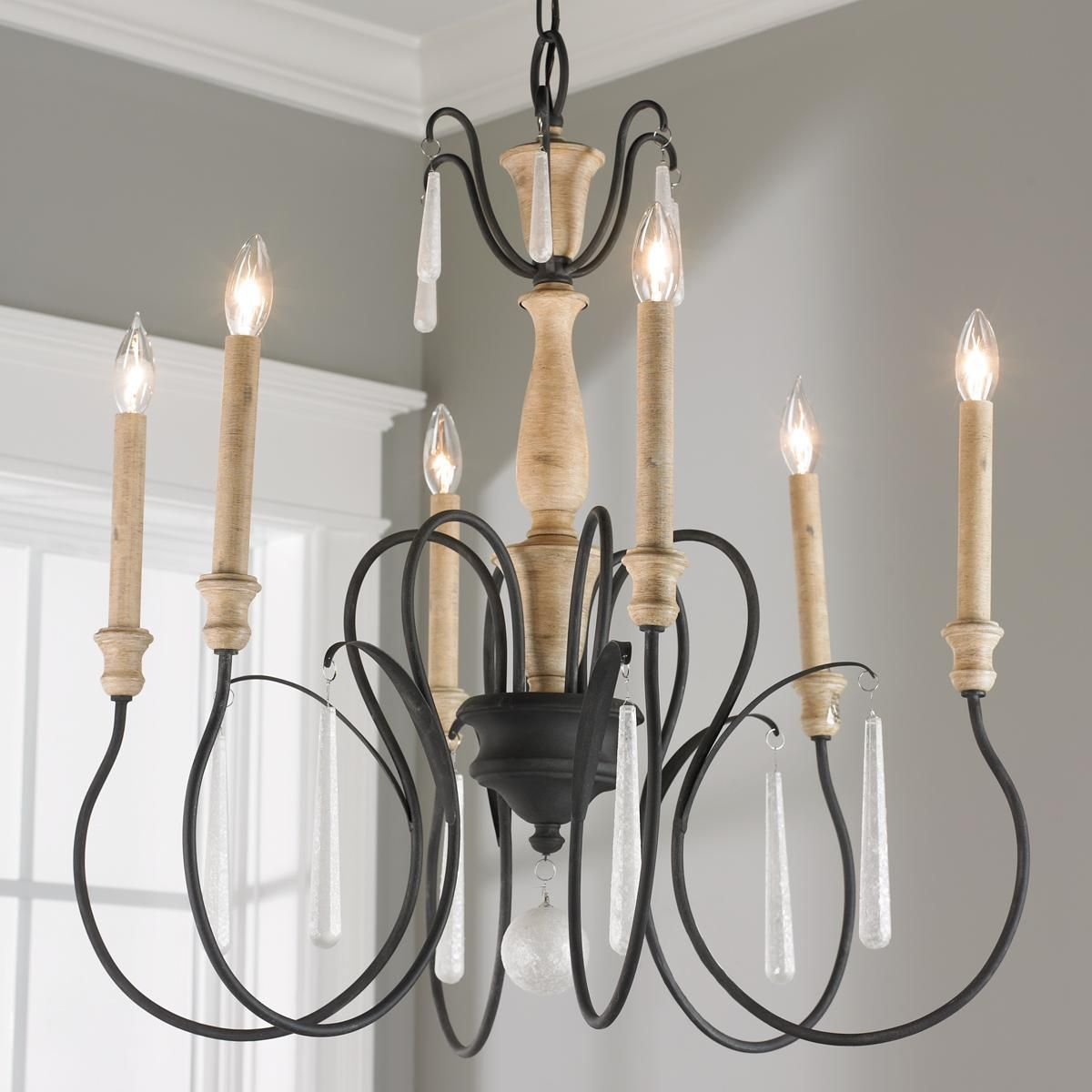 Parchment glass accent chandelier 6 light chandelier shades parchment glass accent 6 light chandelier shades of light parchment glass accent chandelier arubaitofo Choice Image