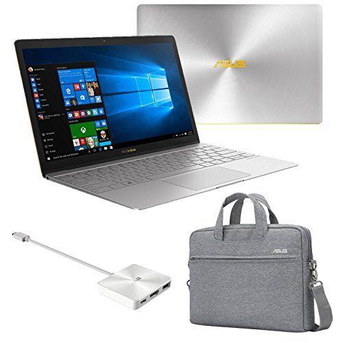 Asus Zenbook 3 Ux390ua Dh51 Gr I5 7200u 8gb Ram 512gb Nvme Ssd 12 5 Full Hd Windows 10 Ultrabook Quartz Grey Ultrabook Laptop Asus