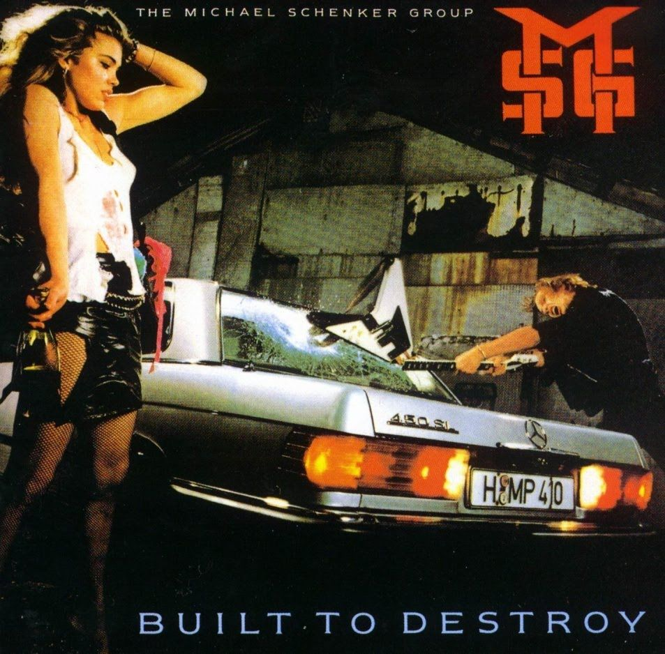 Built To Destroy Classic Msg M Www 80smetal Net Lp Vinyl Record Album Cool Things To Buy