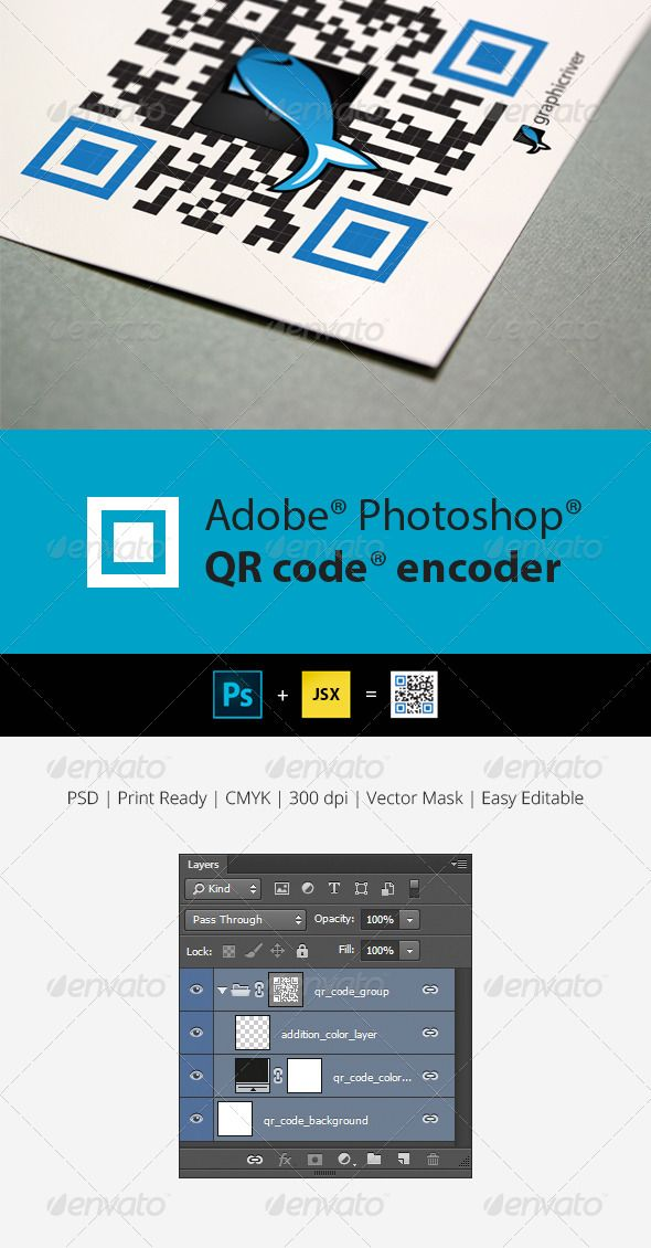 QR Code Generator for Photoshop | Photoshop & AI Design