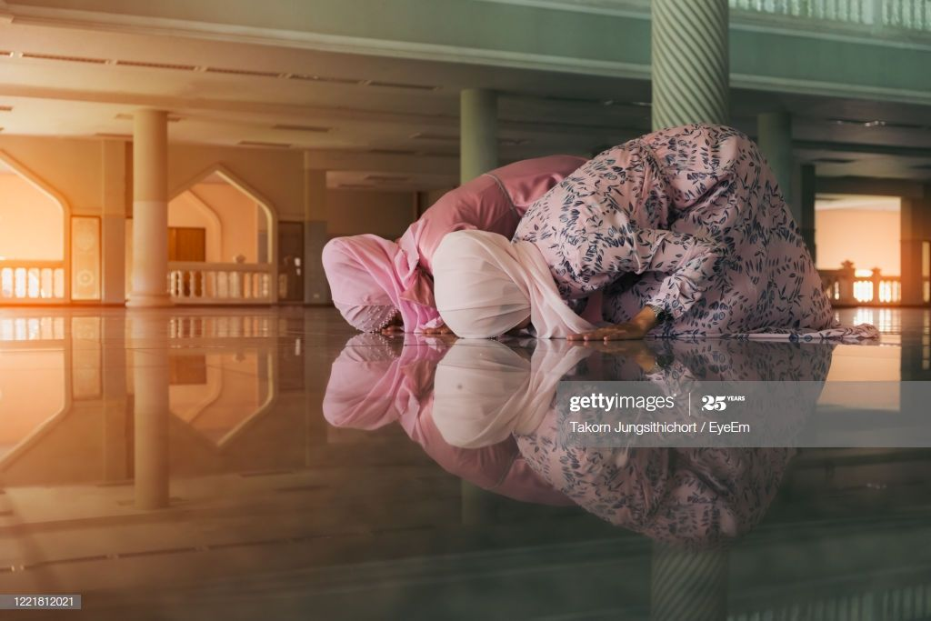 Female Praying In Mosque Photography #Ad, , #ad, #Praying, #Female, #Photography, #Mosque