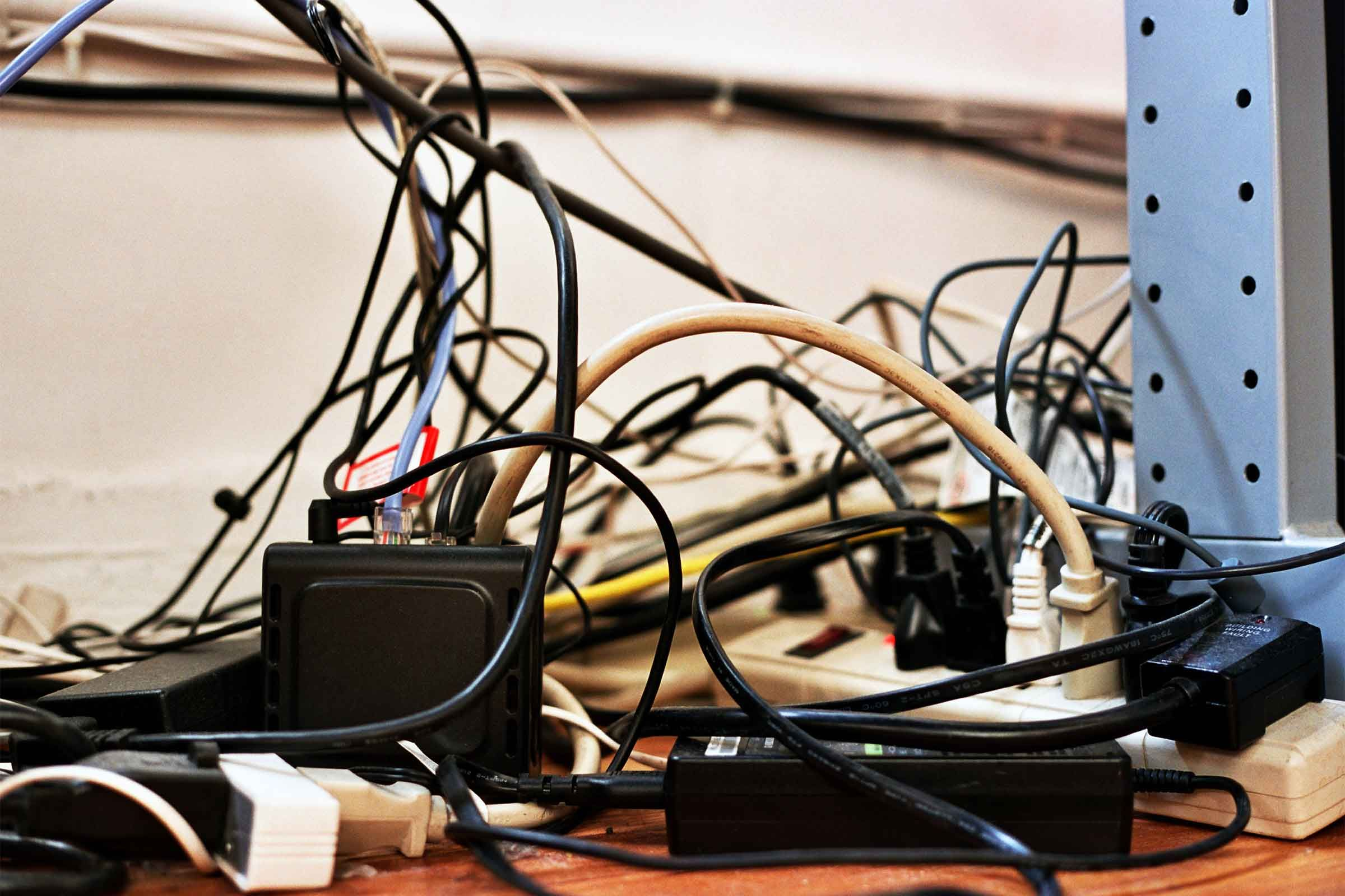 De Clutter Right Now By Paring Down On These 10 Unnecessary Items Home Electrical Wiring