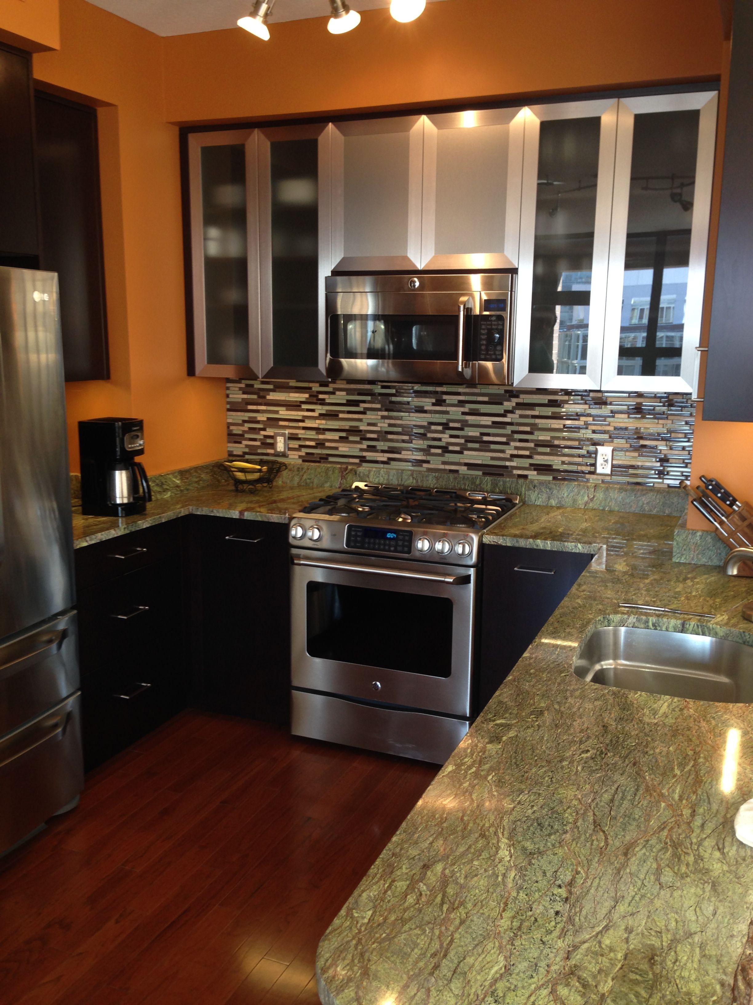 Brazilian River Rock Granite Counter Top Kitchen Kitchen Counter Granite Countertops