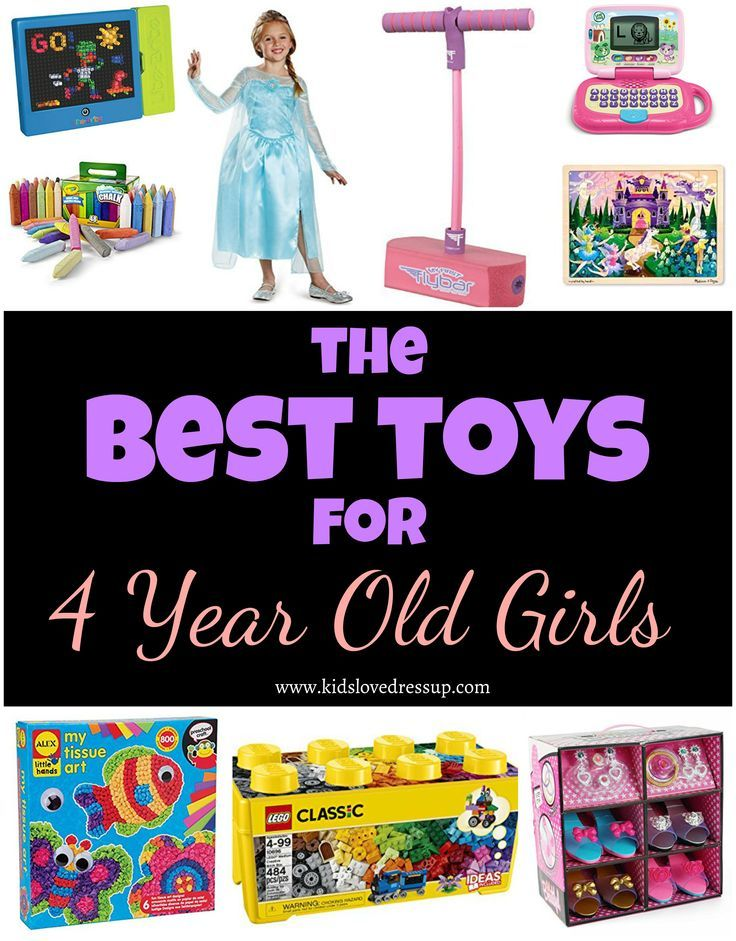 Best Toys For 4 Year Old Girls