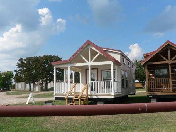 400 Sq Ft Sunnyside Park Model Tiny House on Wheels House