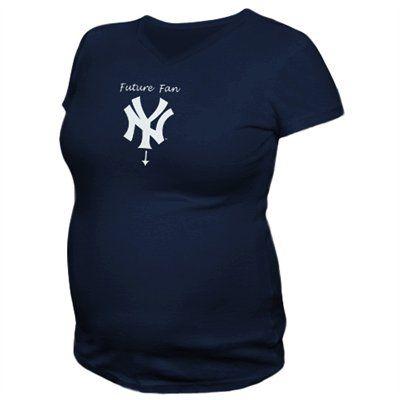 cb35d8debd7b2 New York Yankees Ladies Navy Blue Future Fan Maternity T-shirt ...